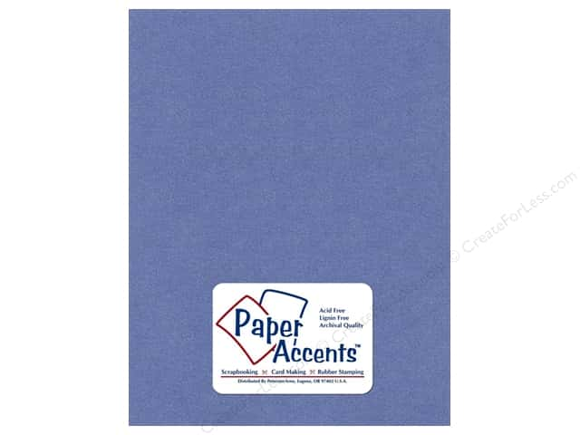 Cardstock 8 1/2 x 11 in. Pearlized Blue Star by Paper Accents (25 sheets)