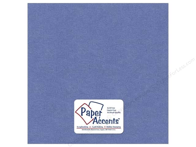 Cardstock 12 x 12 in. Pearlized Blue Star by Paper Accents (25 sheets)