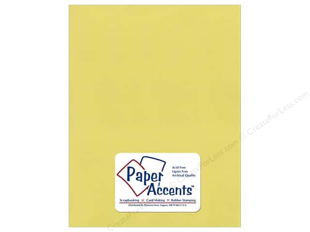 Pearlized Paper 8 1/2 x 11 in. Celery by Paper Accents (25 sheets)