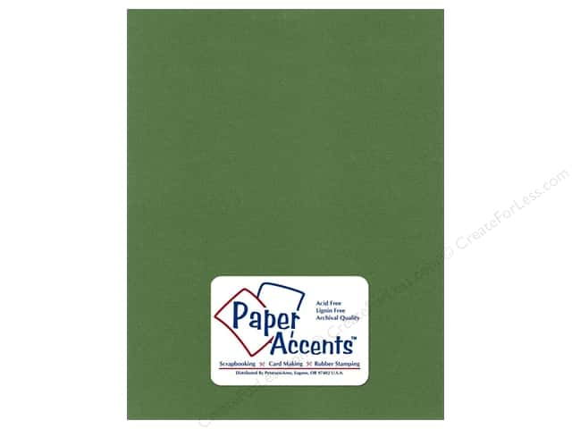 Pearlized Paper 8 1/2 x 11 in. Cilantro by Paper Accents (25 sheets)