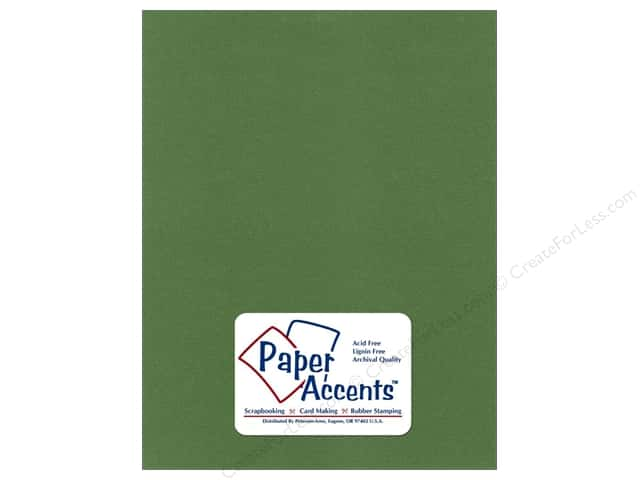 Cardstock 8 1/2 x 11 in. Pearlized Cilantro by Paper Accents (25 sheets)