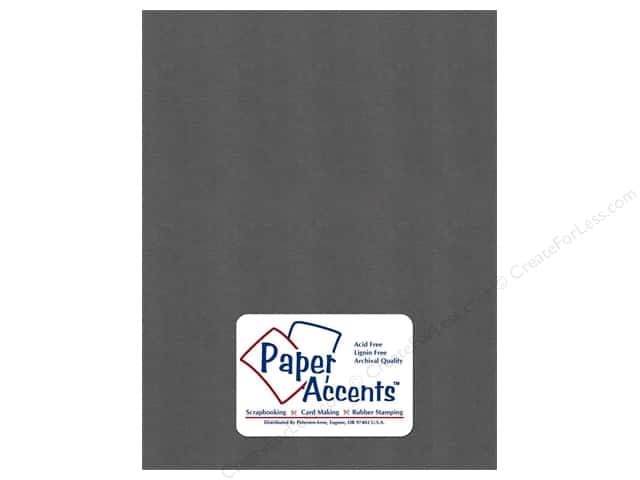 Pearlized Paper 8 1/2 x 11 in. Titanium by Paper Accents (25 sheets)