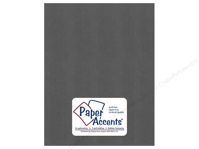 Paper Accents Cardstock 8 1/2 x 11 in. Pearlized Titanium (25 sheets)