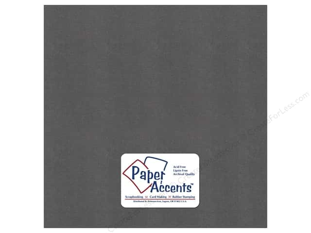 Paper Accents Cardstock 12 x 12 in. #8865C Pearlized Titanium (25 sheets)