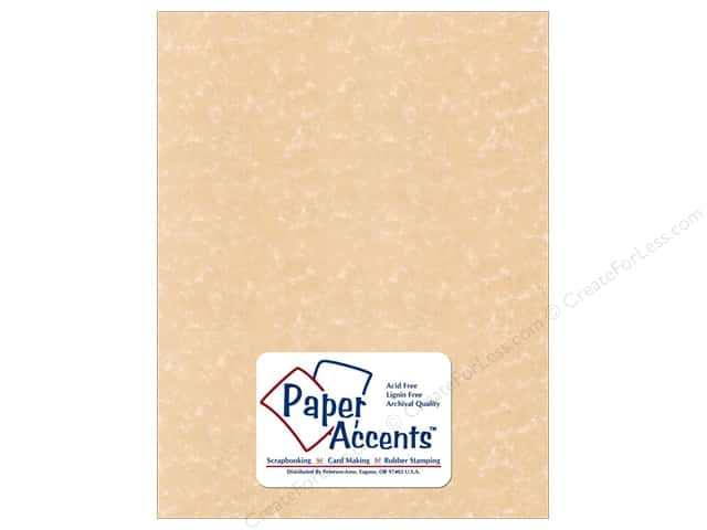 Cardstock 8 1/2 x 11 in. Parchment Sand by Paper Accents (25 sheets)