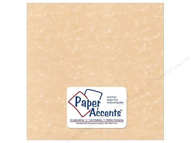 Cardstock 12 x 12 in. Parchment Sand by Paper Accents (25 sheets)