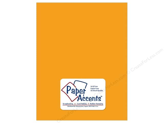 Paper Accents Vellum 8 1/2 x 11 in. #9010 Marmalade (25 sheets)