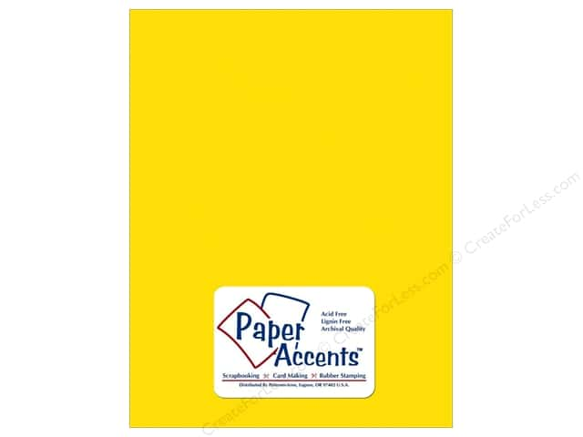 Vellum 8 1/2 x 11 in. #9009 Sunflower by Paper Accents (25 sheets)