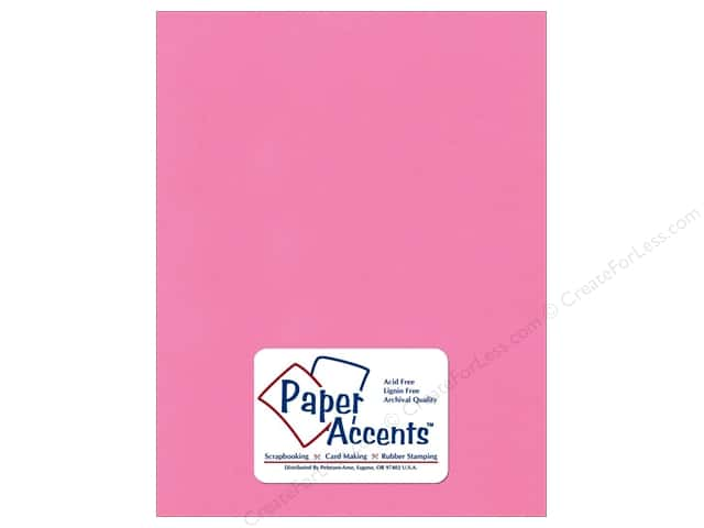 Paper Accents Cardstock 8 1/2 x 11 in #10170Stash Builder Strawberry Ice (25 sheets)