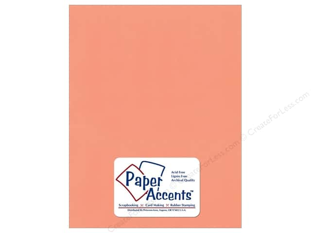 Paper Accents Cardstock 8 1/2 x 11 in. #10171 Stash Builder Dark Salmon (25 sheets)