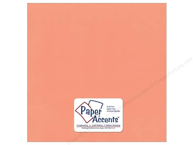 Paper Accents Cardstock 12 x 12 in. #10171 Stash Builder Dark Salmon (25 sheets)