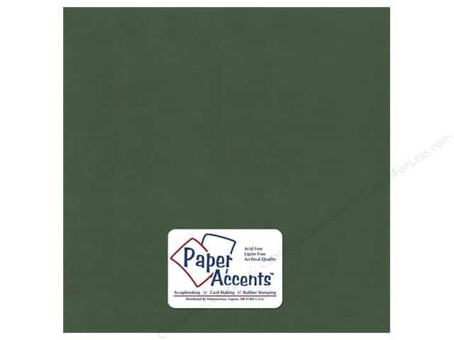 Cardstock 12 x 12 in. Textured Emerald by Paper Accents (25 sheets)