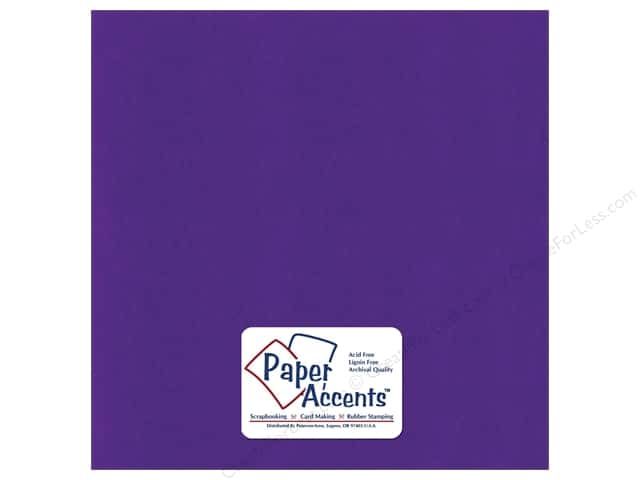 Paper Accents Cardstock 12 x 12 in. #6172 Textured Blue Violet (25 sheets)