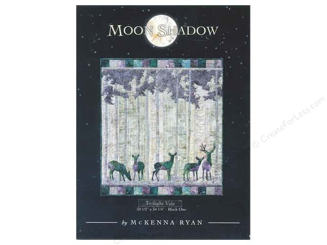 Pine Needles Moon Shadow Twilight Vale Pattern