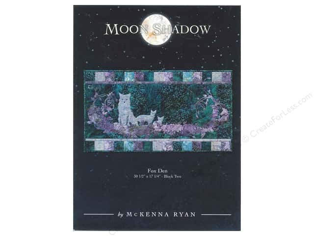 Pine Needles Moon Shadow Fox Den Pattern