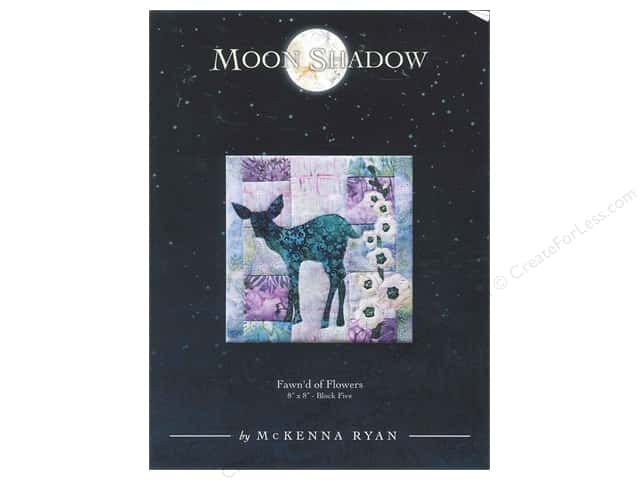 Pine Needles Moon Shadow Fawn'd Of Flowers Pattern