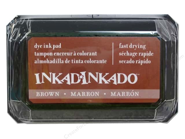 Inkadinkado Dye Ink Pad Brown