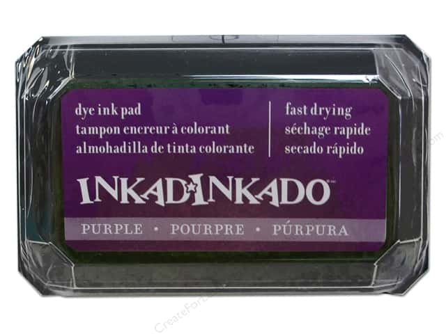 Inkadinkado Dye Ink Pad Purple