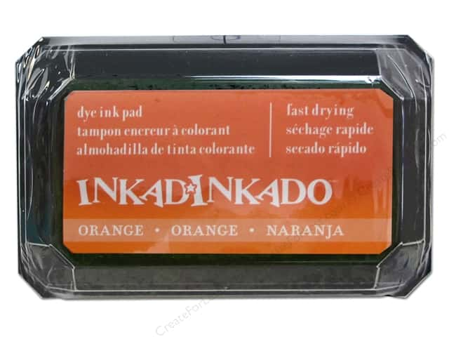 Inkadinkado Dye Ink Pad Orange