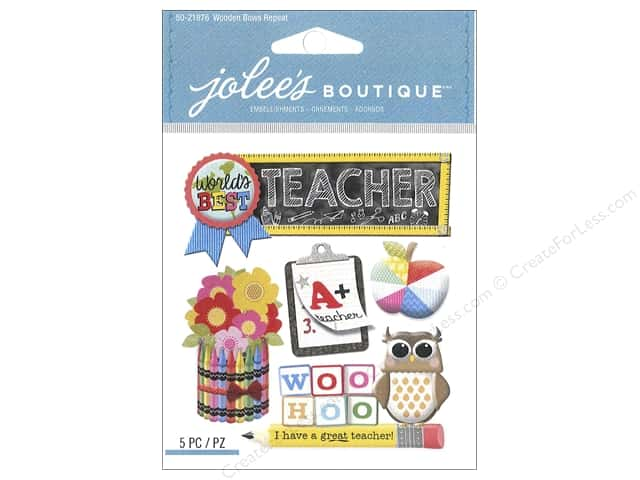 Jolee's Boutique Stickers Teacher