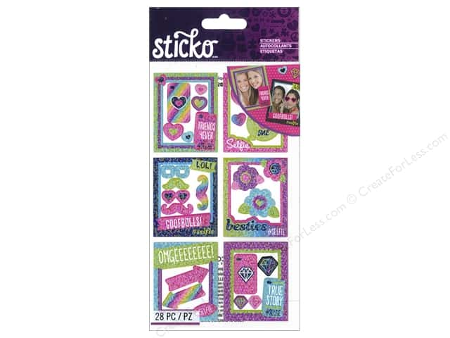 EK Sticko Stickers Selfie Photo Frames