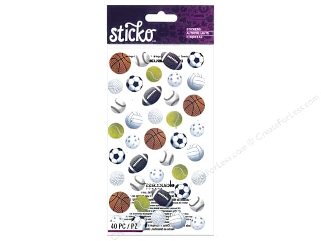 EK Sticko Stickers Sports Balls