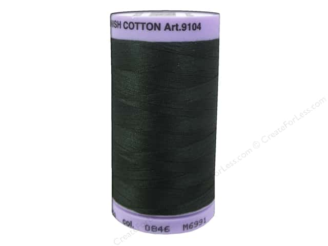Mettler Silk Finish Cotton Thread 50 wt. 547 yd. #0846 Enchanted Forest