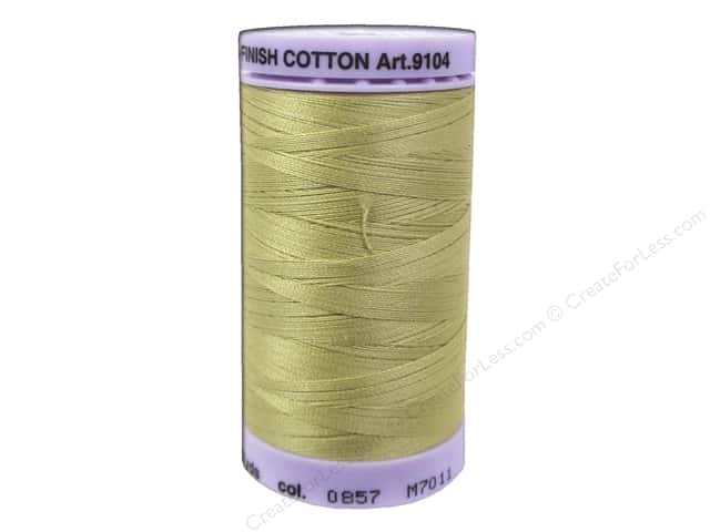 Mettler Silk Finish Cotton Thread 50 wt. 547 yd. #0857 New Wheat