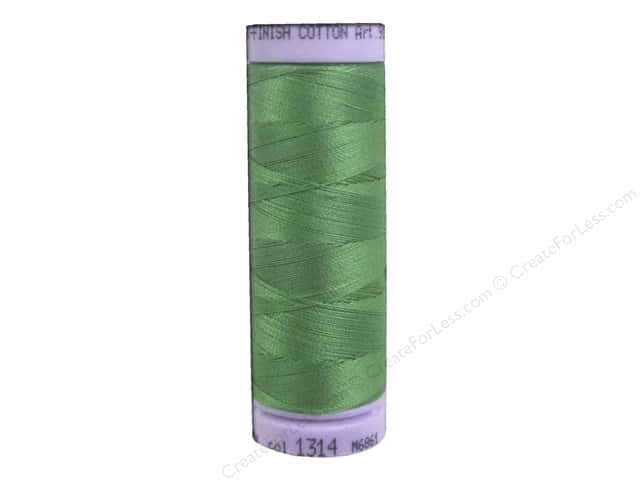 Mettler Silk Finish Cotton Thread 50 wt. 164 yd. #1314 Vibrant Green