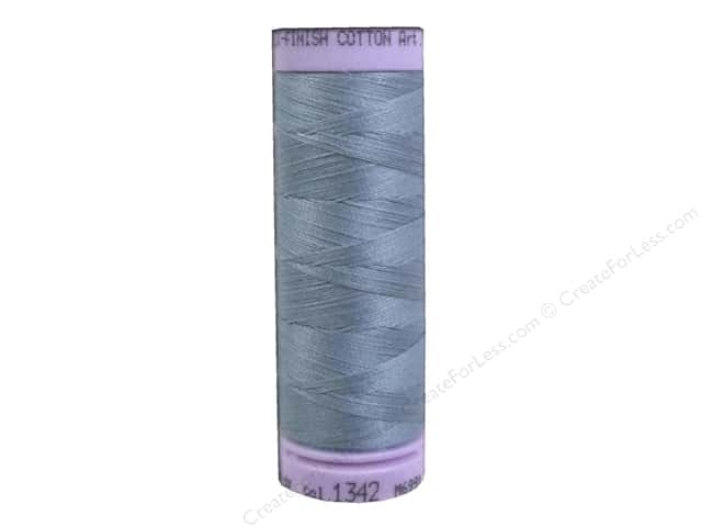 Mettler Silk Finish Cotton Thread 50 wt. 164 yd. #1342 Blue Speedwell