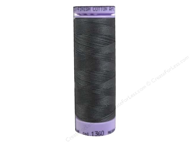 Mettler Silk Finish Cotton Thread 50 wt. 164 yd. #1360 Whale