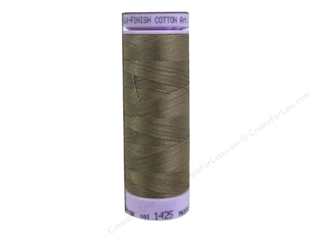 Mettler Silk Finish Cotton Thread 50 wt. 164 yd. #1425 Dormouse