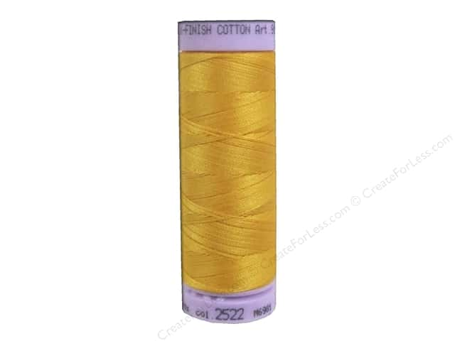 Mettler Silk Finish Cotton Thread 50 wt. 164 yd. #2522 Citrus