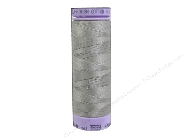 Mettler Silk Finish Cotton Thread 50 wt. 164 yd. #3559 Drizzle