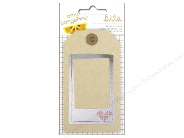 American Crafts Tags Amy Tangerine Stitched