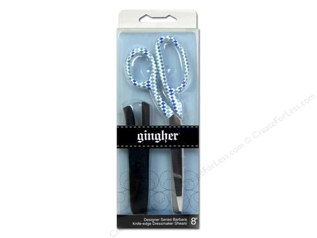 Gingher 8 in. Designer Knife Edge Dressmaker's Shears - Barbara