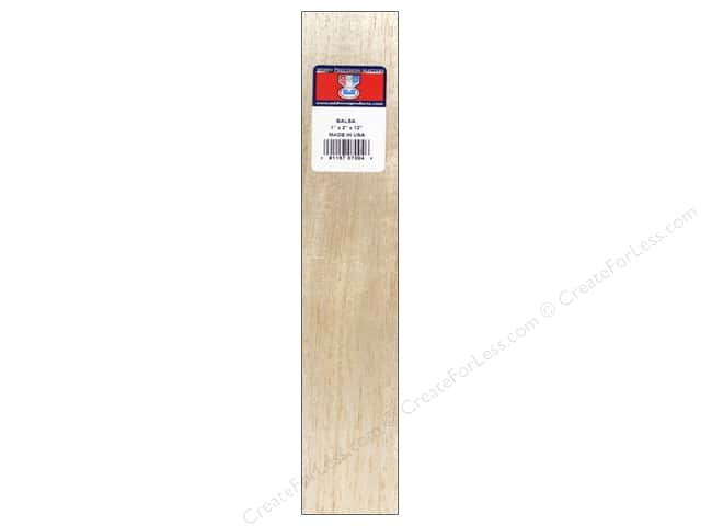 Midwest Balsa Wood Block 1 x 2 x 12 in.