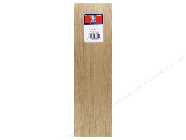 Midwest Balsa Wood Block 2 x 3 x 12 in.