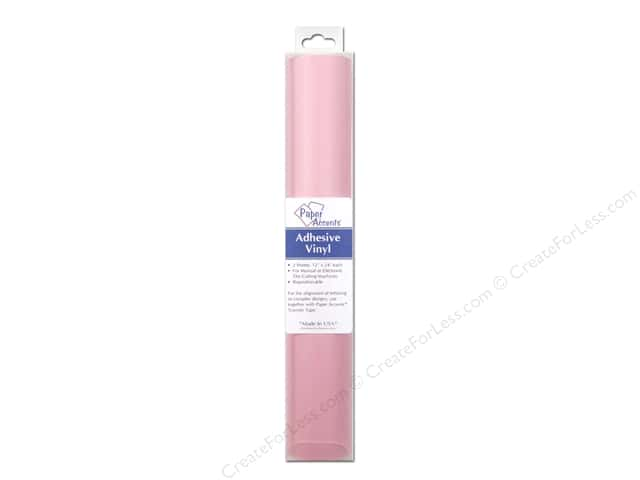 Paper Accents Adhesive Vinyl 12 x 24 in. Removable Carnation Pink 2 pc.