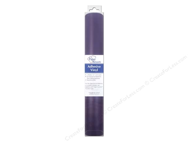Paper Accents Adhesive Vinyl 12 x 24 in. Removable Violet 2 pc.