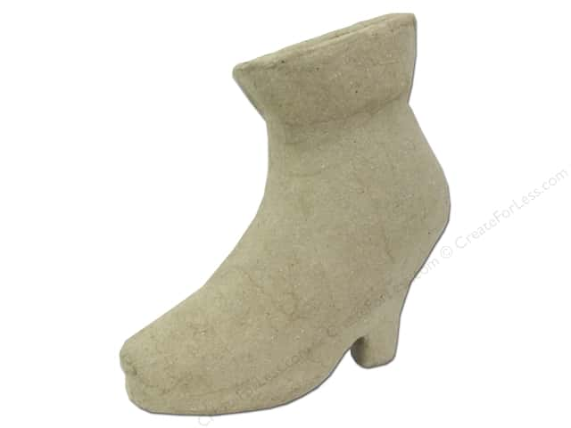 Paper Mache High Heel 9 in. by Craft Pedlars