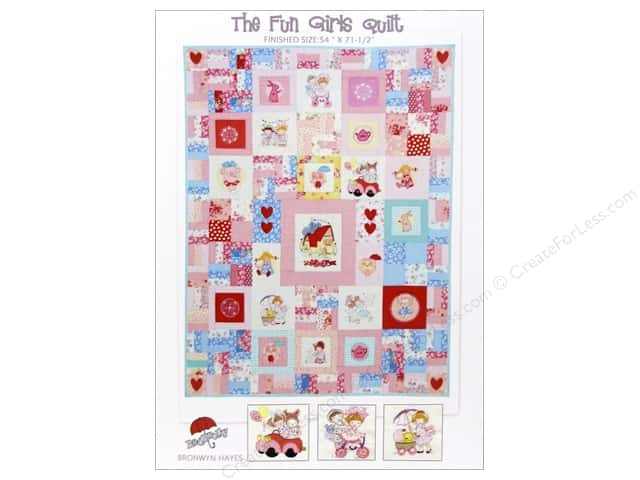 Red Brolly The Fun Girls Quilt Pattern