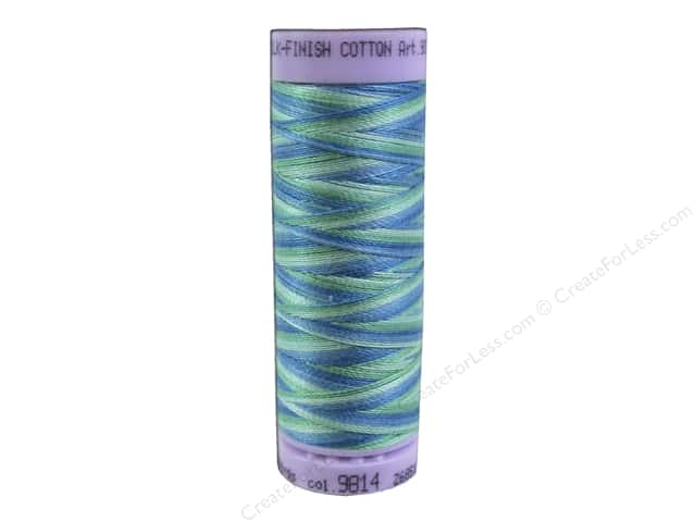 Mettler Silk Finish Cotton Thread 50 wt. 109 yd. #9814 Seaspray