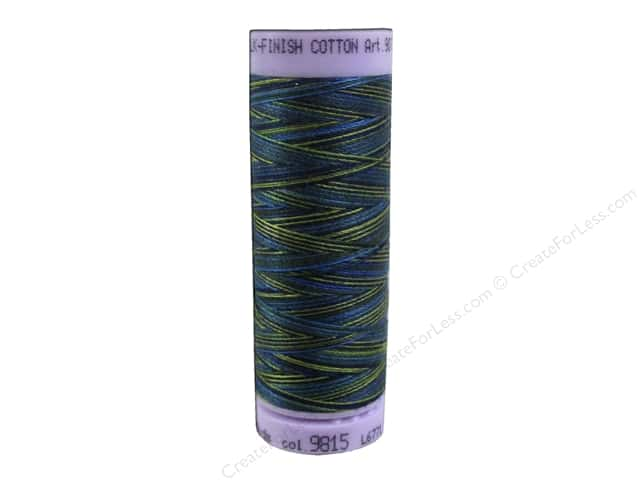 Mettler Silk Finish Cotton Thread 50 wt. 109 yd. #9815 Lakeside View