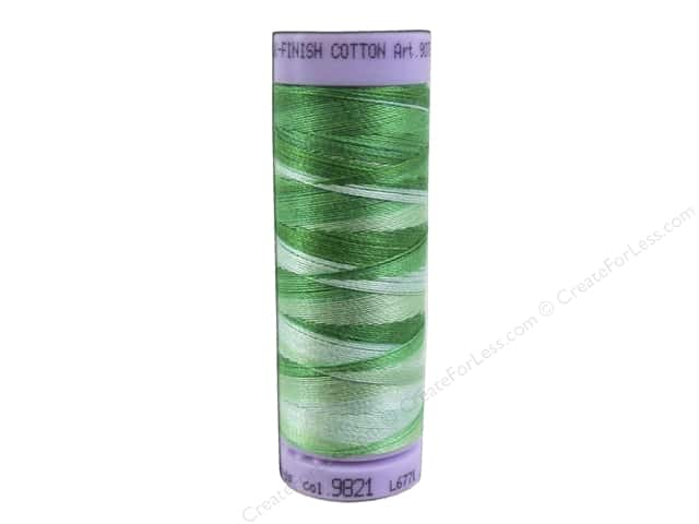 Mettler Silk Finish Cotton Thread 50 wt. 109 yd. #9821 Minty