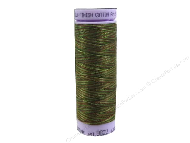 Mettler Silk Finish Cotton Thread 50 wt. 109 yd. #9822 Forest Land