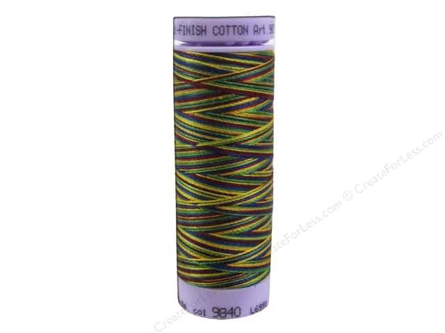 Mettler Silk Finish Cotton Thread 50 wt. 109 yd. #9840 Royalty