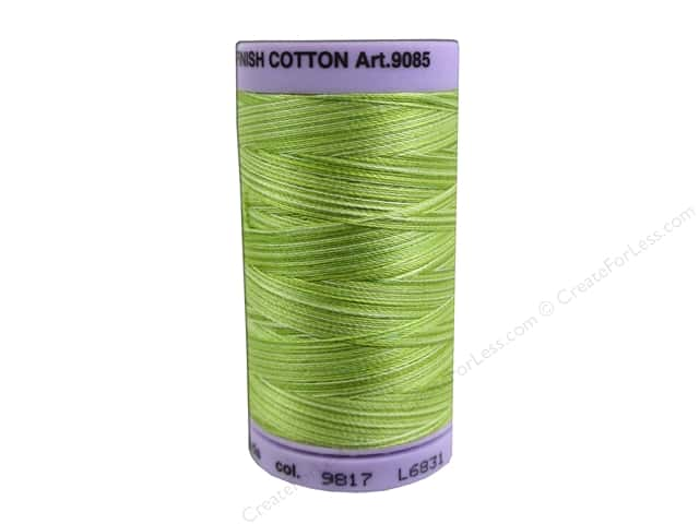Mettler Silk Finish Cotton Thread 50 wt. 500 yd. #9817 Little Sprouts