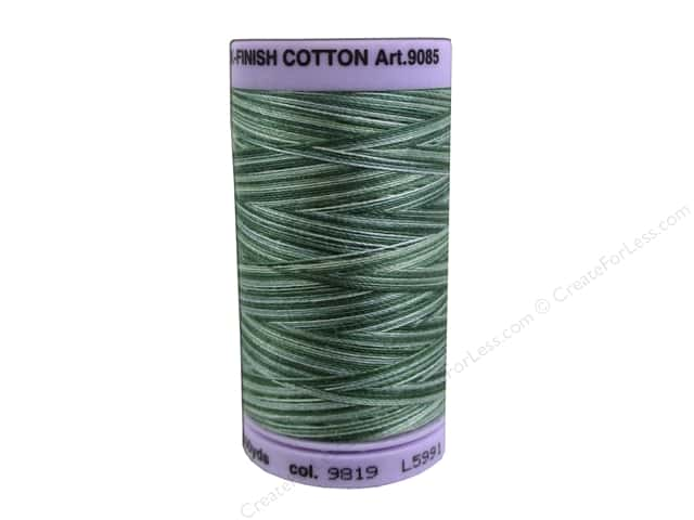 Mettler Silk Finish Cotton Thread 50 wt. 500 yd. #9819 Spruce Pines