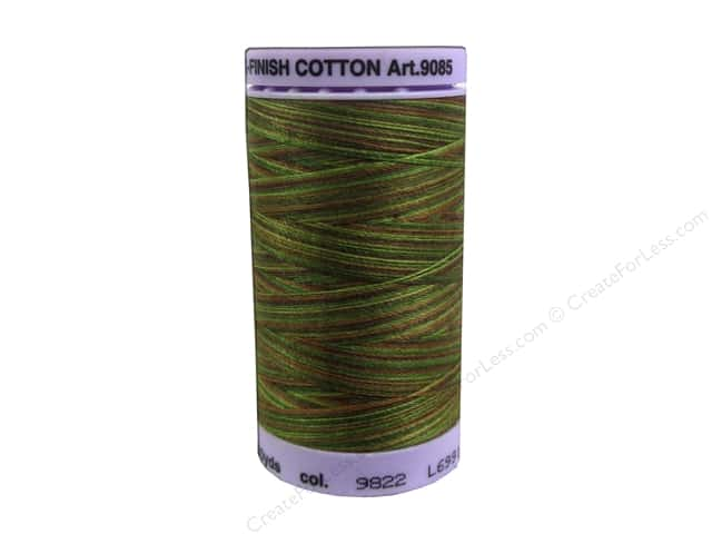 Mettler Silk Finish Cotton Thread 50 wt. 500 yd. #9822 Forest Land